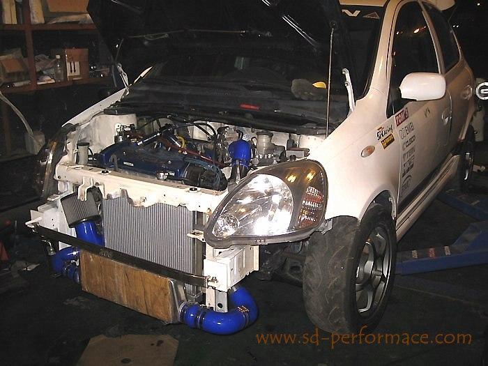 Toyota Yaris Engine 7AFE - Racing Edition